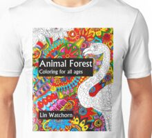 Animal forest coloring book for all ages Unisex T-Shirt