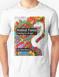 Animal forest coloring book for all ages T-Shirt