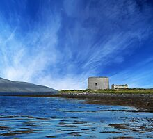 Martello Tower County Clare Ireland by Matthew Laming