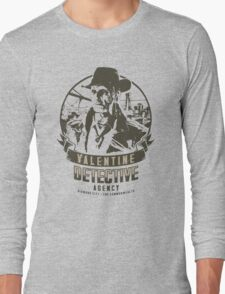 Valentine Detective Agency - Green Long Sleeve T-Shirt