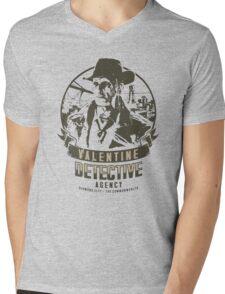 Valentine Detective Agency - Green Mens V-Neck T-Shirt