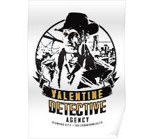 Valentine Detective Agency - Black Poster