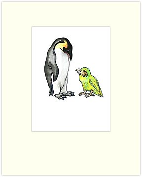 flightless friends by Ashley Peppenger