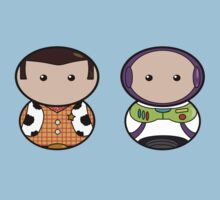 Woody & Buzz by Pixeltowers