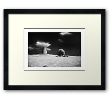 Cleadon Mill - Infrared Framed Print