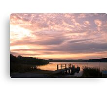 Poddy Shot Sunrise 2 Canvas Print