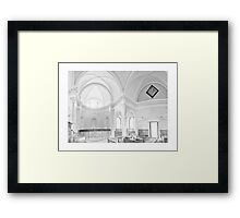 The Palladian Chapel Framed Print