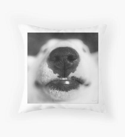 Molly - English Bull Terrier Throw Pillow