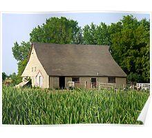 Old Barn - Rural Minnesota Poster