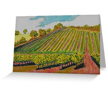 Vines in the Dordogne Greeting Card