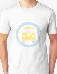 VW T1 bus in retro colors T-Shirt