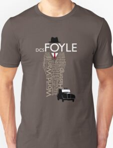 Foyle's War Typography T-Shirt