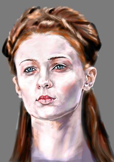 Sansa Stark by UltimateHurl
