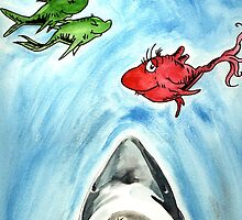 One Fish, Two Fish, Red Fish, Great White by Aaron  Humby