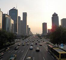Modern Beijing by Panayiotis Zavros