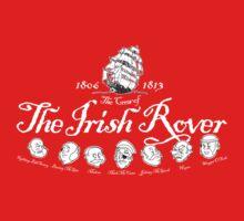 Crew of the Irish Rover Dark shirt Kids Tee