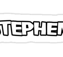 Stephen! Sticker