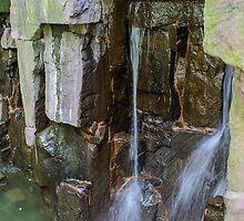 Small Waterfall by Mark Fendrick