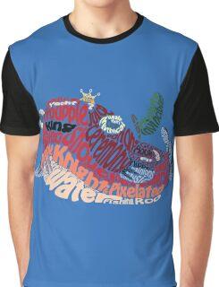 Troupple King Typography Graphic T-Shirt