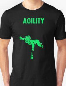 Fallout - S.P.E.C.I.A.L. Agility green T-Shirt
