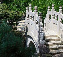 Stone Footbridge by Mark Fendrick