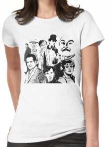 Mystery Page Womens Fitted T-Shirt