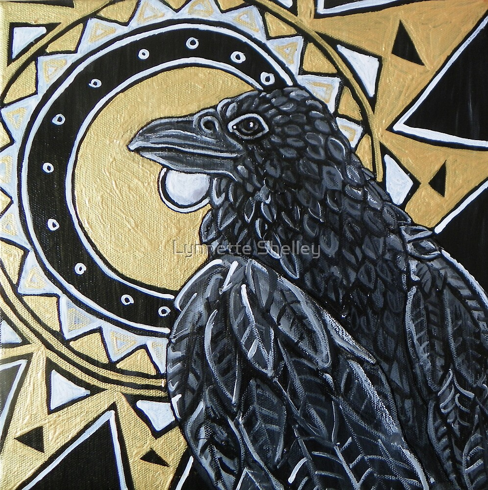 Sun Raven by Lynnette Shelley