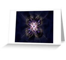 Butterfly Curves Greeting Card