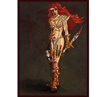 Red Sonja at Last!! Photographic Print