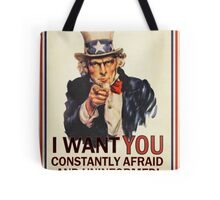 Uncle Sam Fear & Ignorance Tote Bag