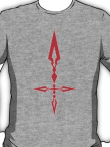 Fate Zero Command Spell Symbol - Saber  T-Shirt