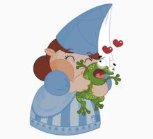 kissing the enchanted frog T-Shirt