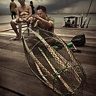 The Fisherman #0401 by Michiel de Lange