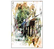 Small Town USA Photographic Print