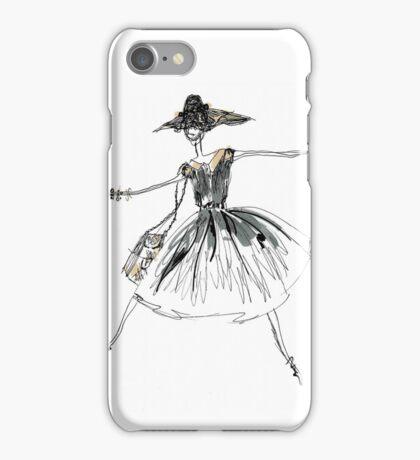 Vintage Lady iPhone Case/Skin