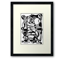 'FADE INTO YOU' (VERSION #2)  Framed Print