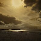 A golden moment - Local Hero beach by artyfifi
