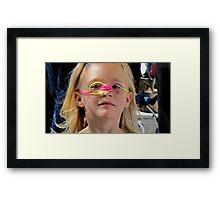Being Goofy Framed Print