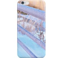 Frosty Fence iPhone Case/Skin