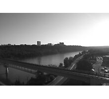 Suburbia on the River Photographic Print