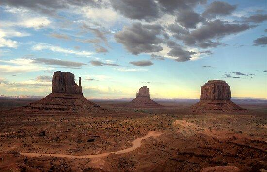 Monument Valley Sunset  by Saija  Lehtonen