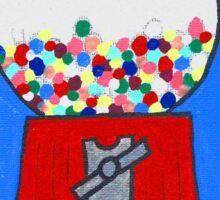 Gumball machine Sticker