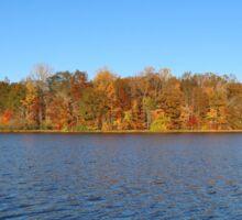Autumn Color Island Sticker