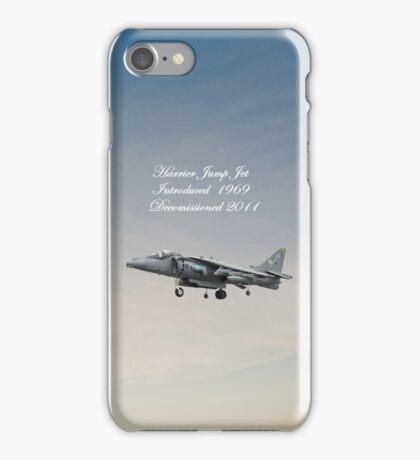 Harrier Jump Jet  iPhone Case iPhone Case/Skin