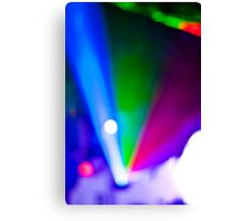 Abstract #11 - Lights Canvas Print