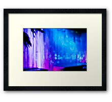 Abstract #12 - Curtain of Light Framed Print