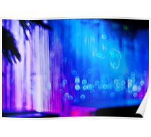 Abstract #12 - Curtain of Light Poster