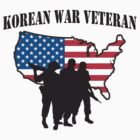 Korean War Veteran T-Shirt by HolidayT-Shirts