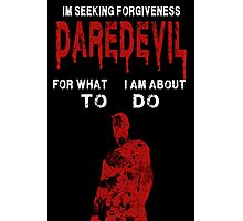 Daredevil Forgiveness  Photographic Print