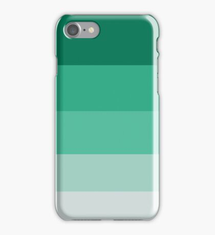 Turquoise Scale iPhone Case/Skin